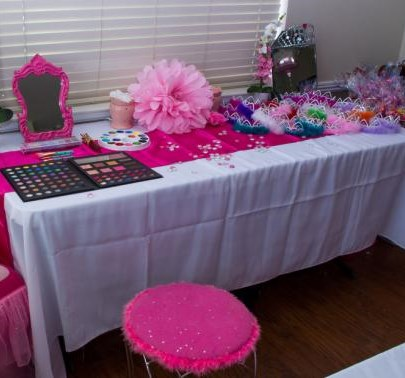 Makeup party themes